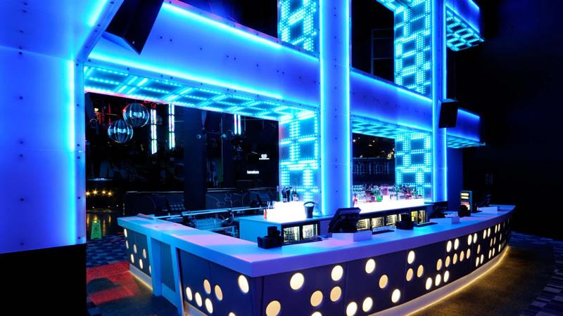 Night Club Interior Designer Pub Decoration DJ