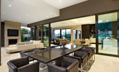 Contemporary Luxury Kitchen Meals Dining Area Designer Interiors service Gurgaon New DELHI