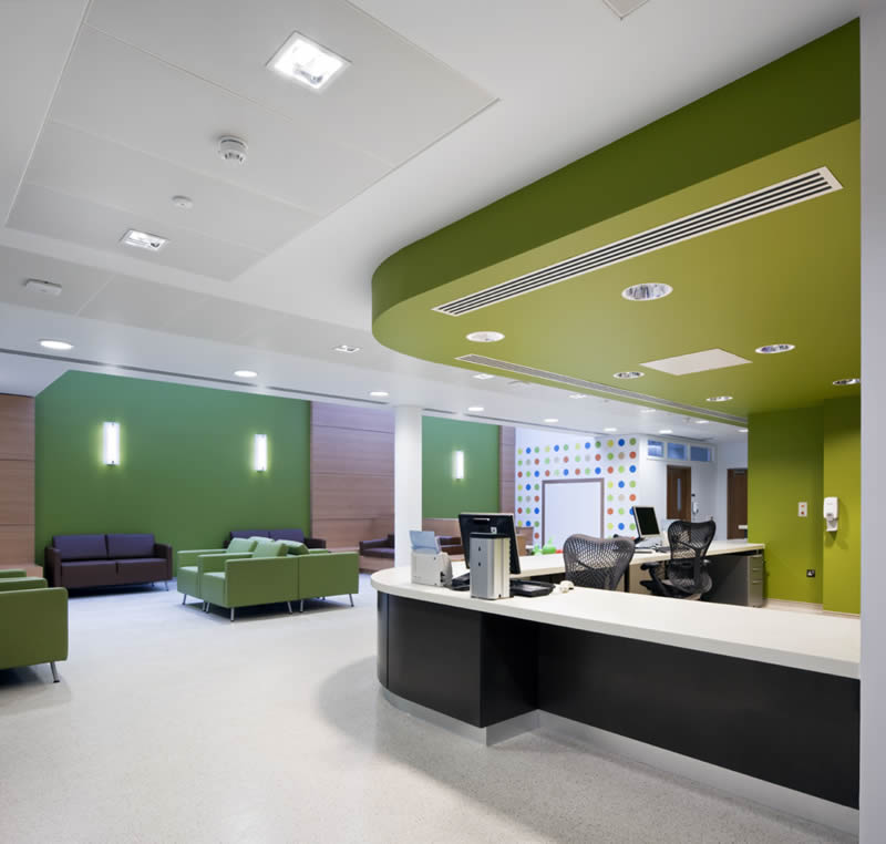 Best interior designer for hospital clinic test lab for Clinic interior design