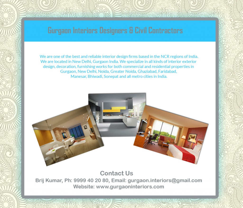New Delhi Civil Contractors & Interior Designers for Home & Office : West Patel Nagar